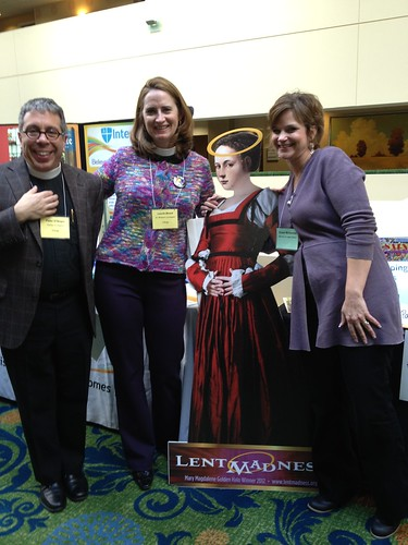 """<p>Exhibitor displays included jewelry, scarves, ministries of the diocese, and Forward Movement, which sponsors <a href=""""http://lentmadness.org/"""" rel=""""nofollow"""">Lent Madness</a>.</p>"""