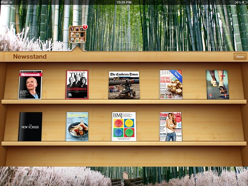 Screenshots: iPad 3