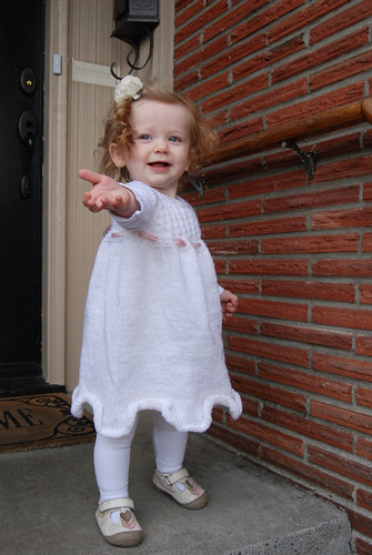 Baptism Knit Dress