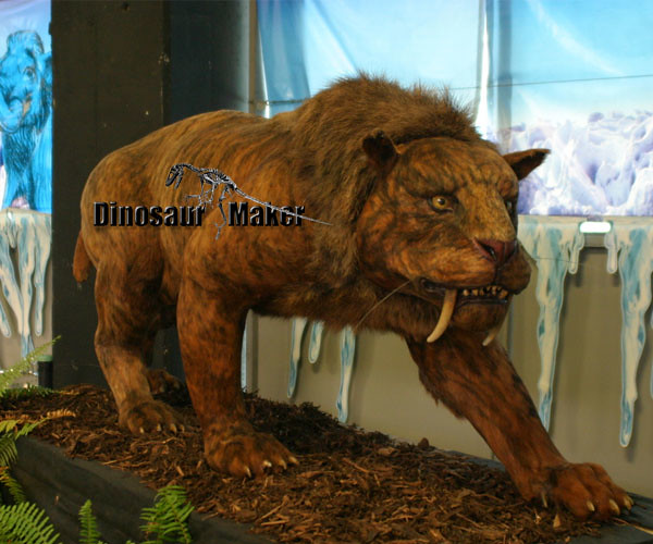 Life Size Animatronic Animal in Museum