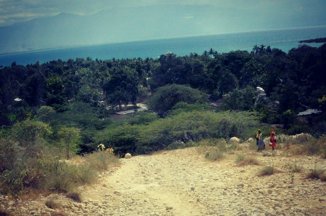 Haiti mountainside