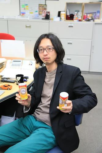 20130221 オフィスでマテ茶
