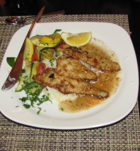Monterey Bay Sand Dabs at Bistro Abrego