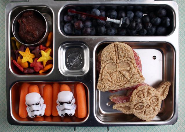 3rd Grade Star Wars Bento #720