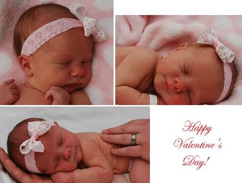 Our new niece Quinn