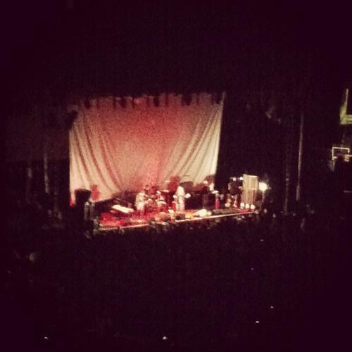 That's Patti Smith! #DancingBarefoot