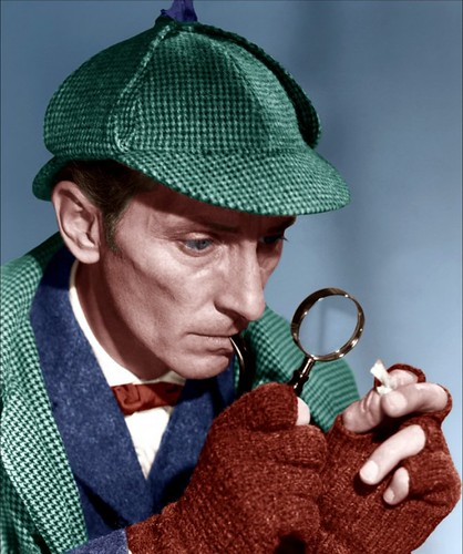 Peter Cushing in ''The Hound of the Baskervilles'' (1959)
