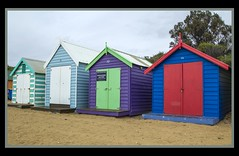 Melbourne Brighton Beach Huts