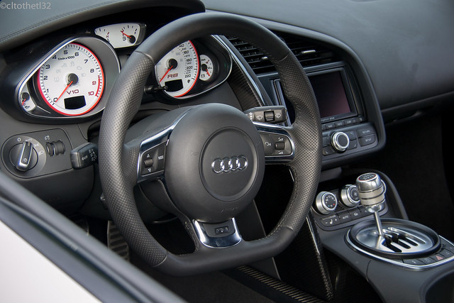 audi r8 v10 interior flickr photo sharing. Black Bedroom Furniture Sets. Home Design Ideas