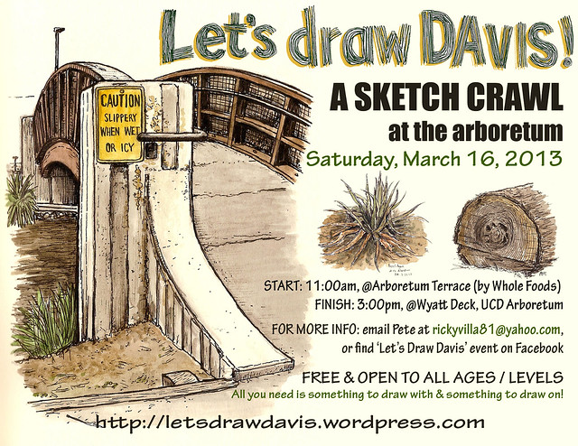 let's draw davis march 2013