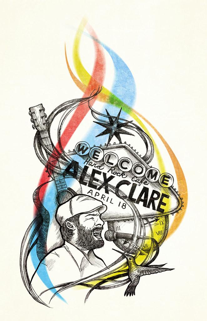 Alex Clare @ Las Vegas - image 2 - student project