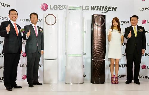 2013년 휘센 에어컨 신제품 발표회