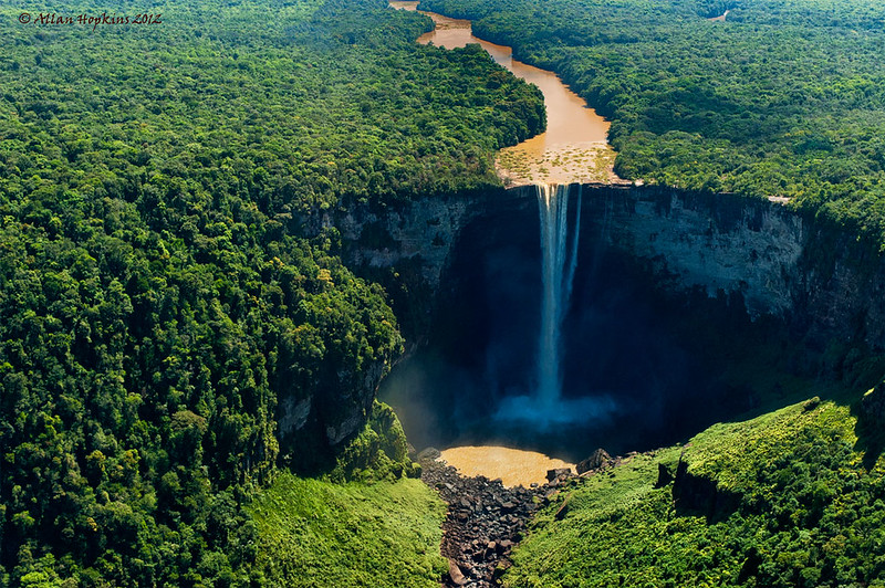 Kaieteur Falls from the air