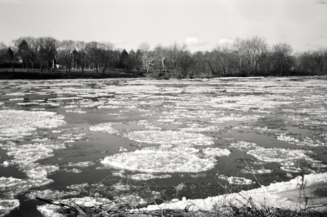 Ice Floes on Delaware River