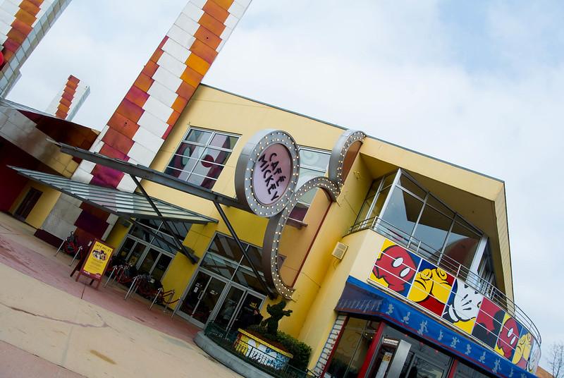 Disneyland Paris Cafe Mickey