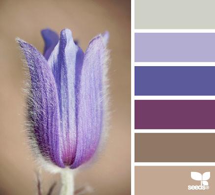 Colour Palette - Spring Tones