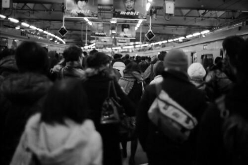 「ごちゃごちゃ」 東横線渋谷駅 #224 かず