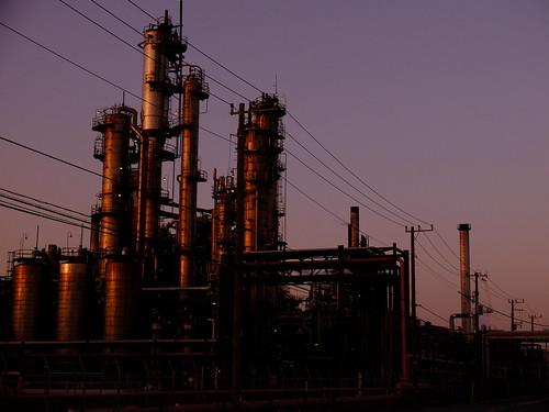 Kawasaki Factory dusk scene 02