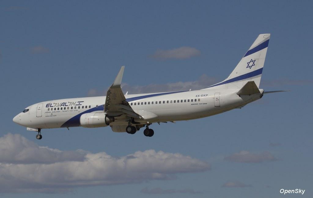 El Al Israel Airlines Boeing 737-8Q8(WL) 4X-EKP (cn 30639)