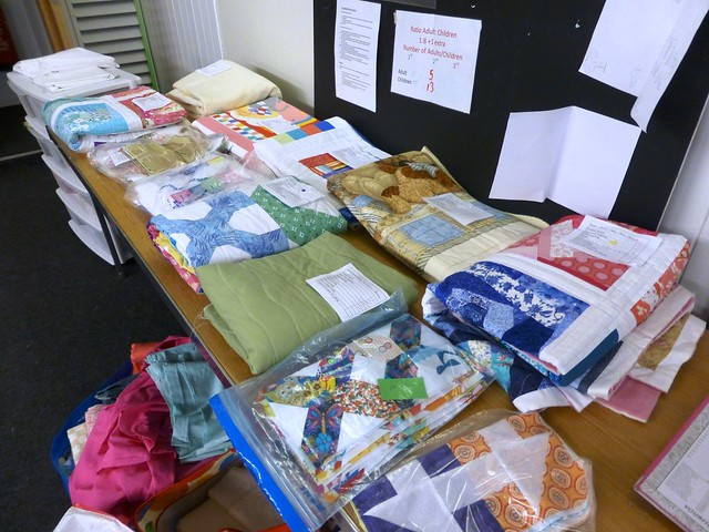 Bee Blessed Project table Mar13