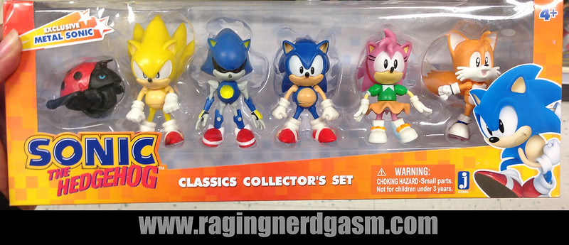 Sonic The Hedgehog Classic Collectors Set by Jazwares