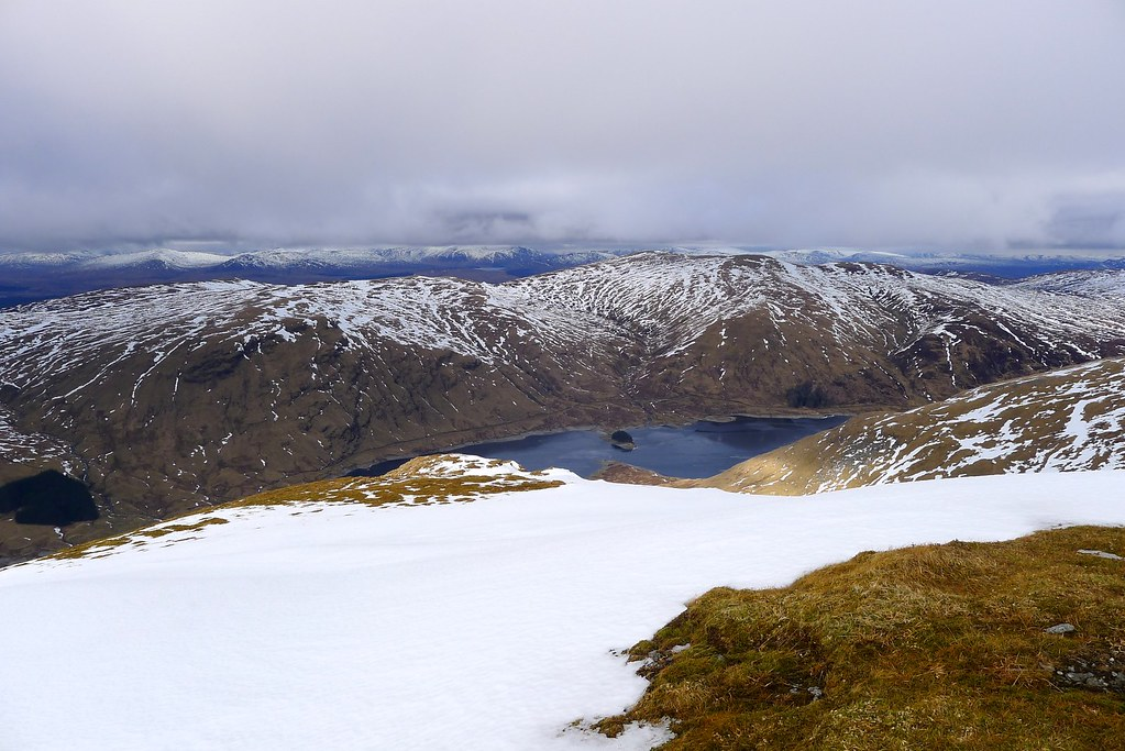 Meall Buidhe above Loch an Daimh