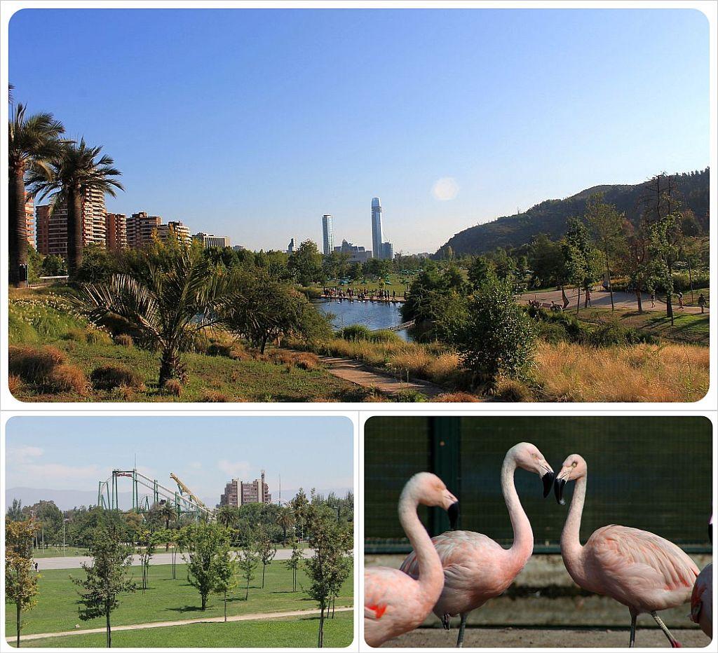 Santiago de chile parks