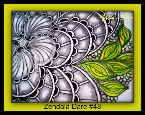 Zendala Dare #48a close up by Poppie_60