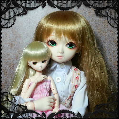 Kirameki & Chibi-Kirameki #parabox  #angela #s_angela #obitsu  #doll