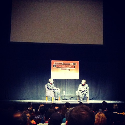 Chuck Lorre and Neil Gaiman at SXSWi