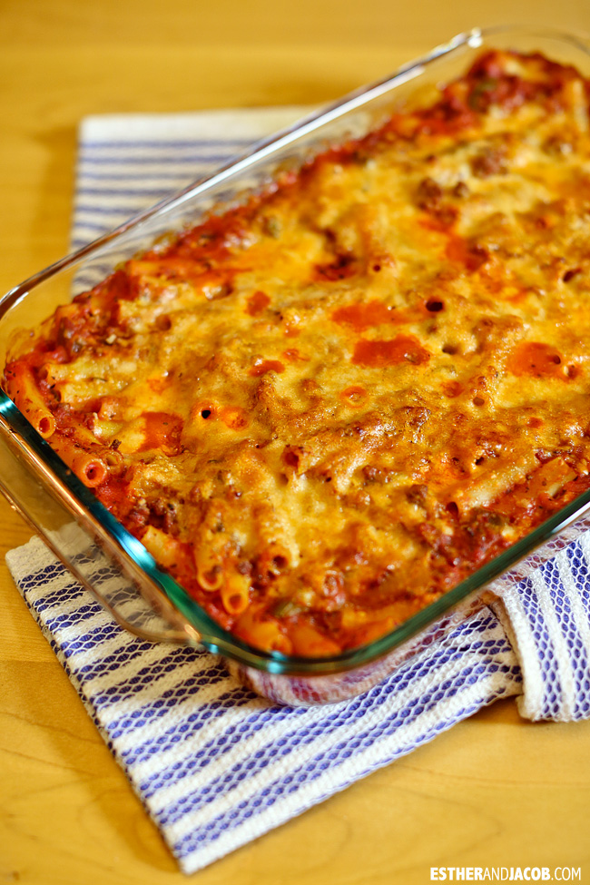Easy Baked Ziti Recipe | Tried and True Recipes.