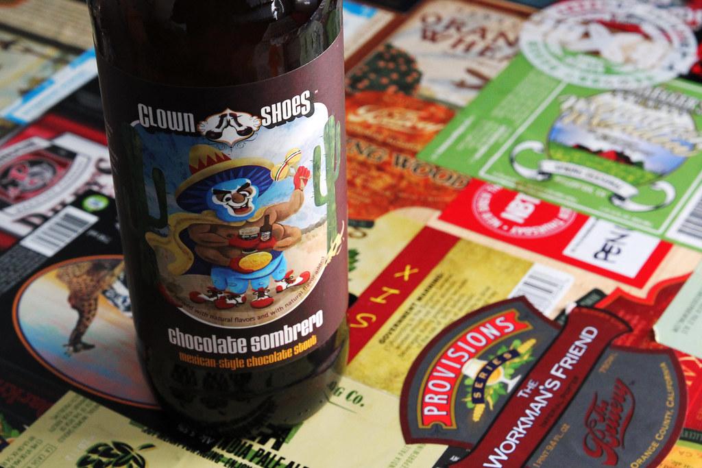 New Brew Thursday: Chocolate Sombrero Double Stout : Clown Shoes
