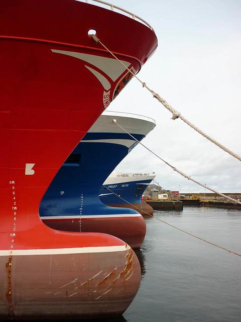 Pelagic trawlers, Peterhead