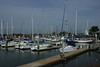 Antioch's Marina - View of Harbor as seen from the deck behind the Harbor Master's Building.