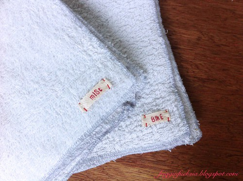 Upcycled Bath Towel