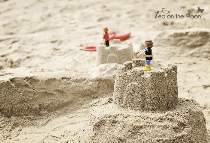 Playa castillos arena