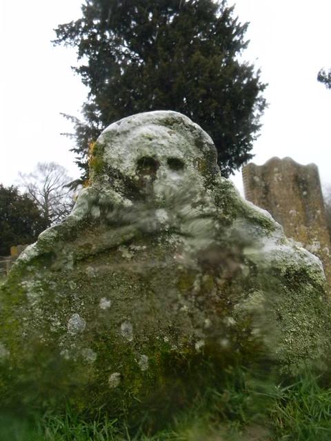 Smugglers gravestone, Burwash