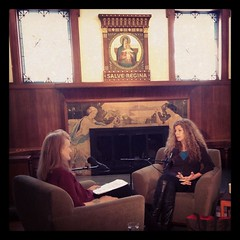 Krista Tippett and Marie Howe During Interview