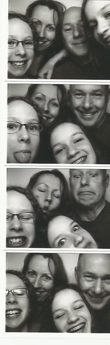 Photo booth family