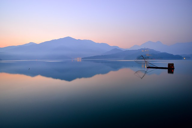 Tranquility at Sun Moon Lake @寧靜明潭