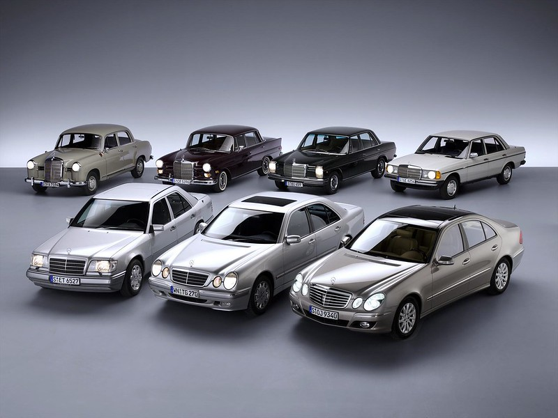Mercedes E-klasse evolution