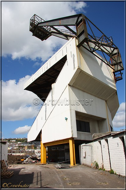 Vetch Field - East (Toshack) Stand.
