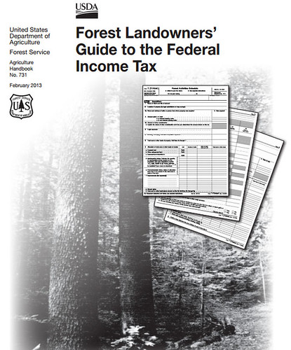 Forest Landowners' Guide to the Federal Income Tax includes updated information on income tax as it pertains to timber and forest land planning.