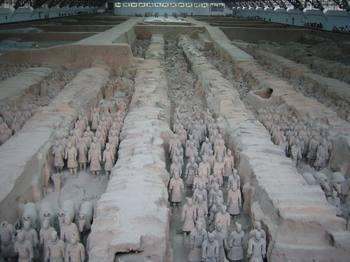 IMG_4945 - Terracotta Warriors in Qin Shi Huang's Tomb, Xi'an, China, 2007