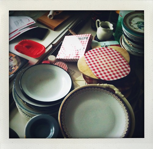 Plates and stuff everywhere...help!