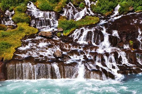 [フリー画像素材] 自然風景, 滝, 風景 - アイスランド ID:201303271600