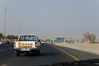 Sur l'autoroute