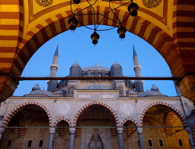 Selimiye Mosque in Edirne, Turkey (Unesco world heritage)