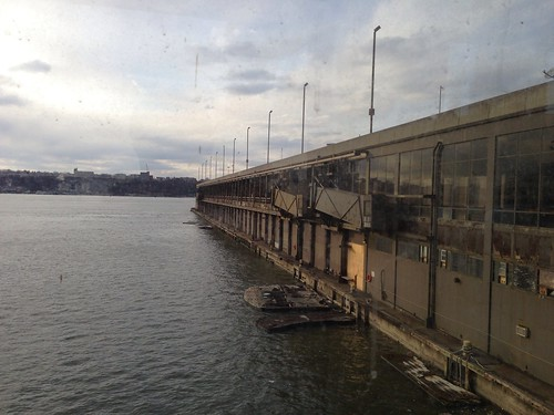 Pier 92, and the Hudson