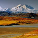 Denali in late fall colors by akcharly